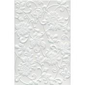 Аджанта цветы белый 8216 30х20