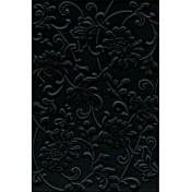Аджанта цветы черный 8217 30х20